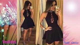 Moda Para Adolescentes♥ Tendencia Vestidos Para Chicas 2018 - 2019 Todo Chicas