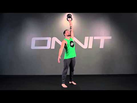 One-arm Kettlebell Bottom's Up Press