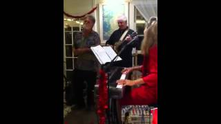 "Jason sings ""Unchained Melody"" with Louise Lambert, Tim Hackbarth, and Jesse Smith at Unity on Maui 2013"