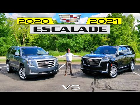 External Review Video k5QA1Otmye0 for Cadillac Escalade Full-Size SUV (4th Gen)