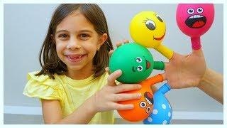 The Fingers Balloon Video - Children Music by Kids Learning Songs