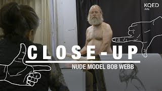 Veteran Art Model Bob Webb Strikes a Pose