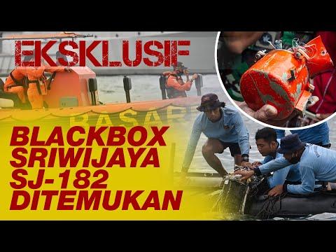 Eksklusif. Blackbox Sriwijaya SJ-182 Ditemukan