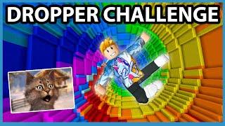 Roblox Rainbow Dropper Challenge