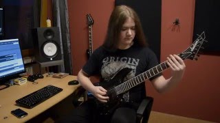Symphony X - Charon (FULL GUITAR COVER + SOLOS)