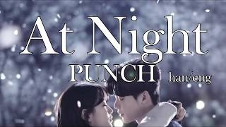 Punch - At Night (While You Were Sleeping OST) Lyrics Han/Eng