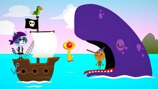 ПИРАТЫ Поиск острова сокровищ COMOMOLA Pirates Детские приключения ИГРОМУЛЬТ
