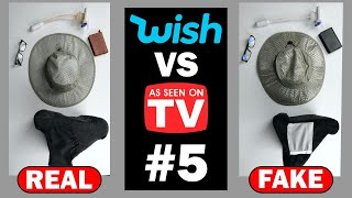 Wish vs As Seen on TV #5: Real or Counterfeit?