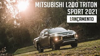 Mitsubishi L200 Triton Sport 2021 - Lançamento
