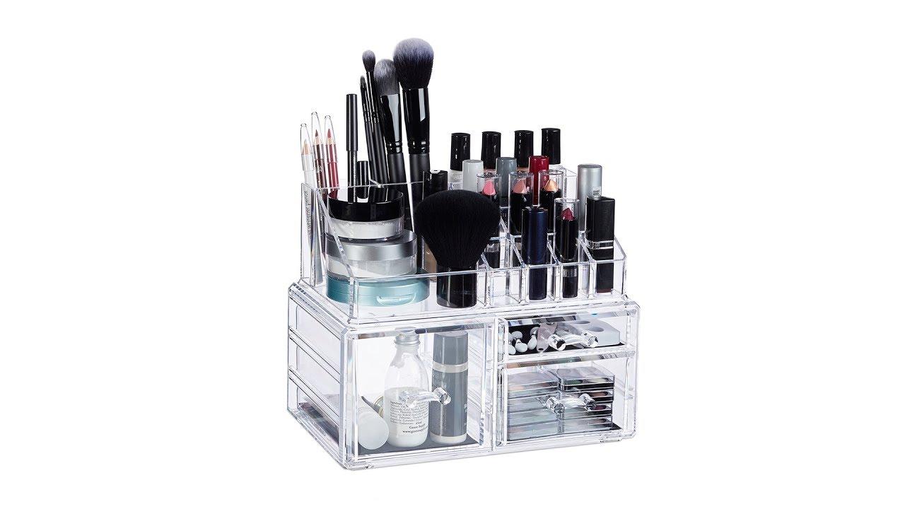 Video von: Make-Up Organizer mit 3 Schubladen