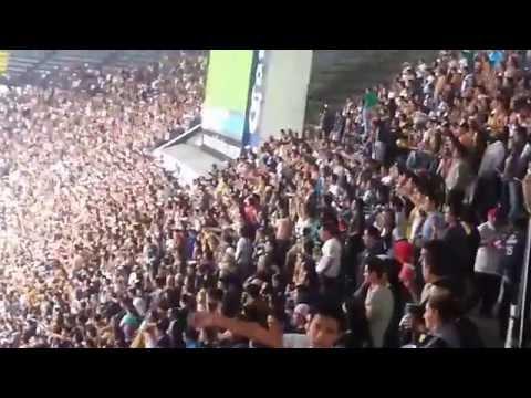 """""""America vs Pumas. La Rebel Apertura 2014"""" Barra: La Rebel • Club: Pumas"""