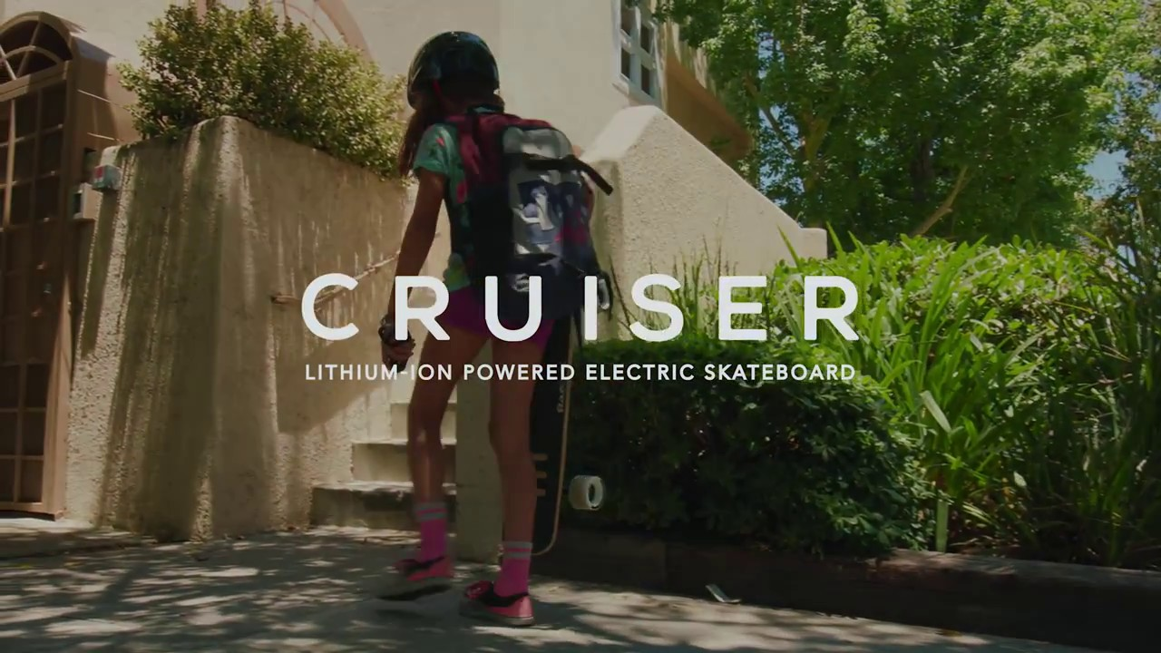 RazorX Cruiser Electric Skateboard Ride Video