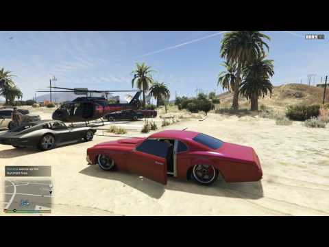 GTA 5 drag test Phoenix stock & tuning - игровое видео