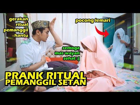 PRANK Ritual Pemanggilan SETAN Ke ADEK! GONE WRONG! :(