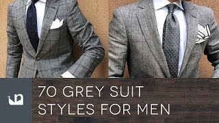 70 Grey Suit Styles For Men - Male Fashion