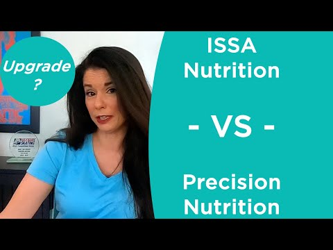 ISSA Nutritionist VS Precision Nutrition 1: Should You Upgrade ...