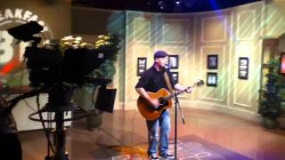 "Graham Greer taping ""You're the One"" at CTV Halifax June 8t"