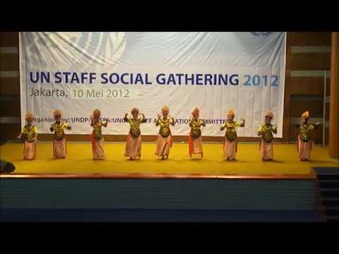 Cokek Betawi Dance Performance By WHO Indonesia