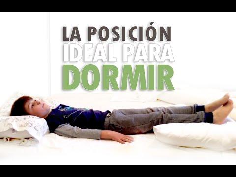 La posición IDEAL Para Dormir y Cuidar Cuello/Espalda
