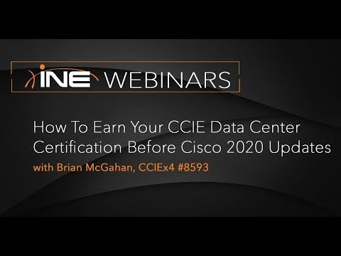 INE Live Webinar: How to Earn Your CCIE Data Center Certification ...