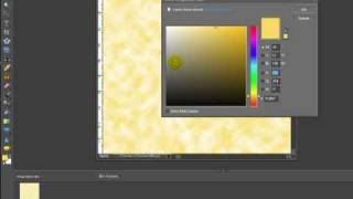 Digital Scrapbooking Tutorial - How To Create A Parchment Paper Background In Photoshop Elements 7