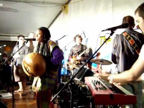 Marimbira Fabio&Jivemasters band Live NFF Canberra 2010