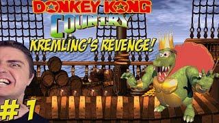 Hardcore Bananas & Sex! Matt vs. Donkey Kong Country: Kremling's Revenge! Part 1 - YoVideogames