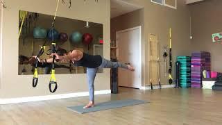 TRX Suspension Pilates Flow with Trainer Fiona Hermanutz