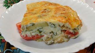 Безумно вкусная и нежная запеканка из овощей с сыром