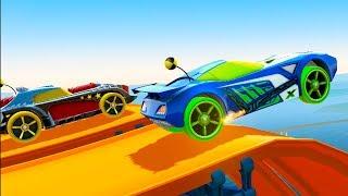 МАШИНКИ ХОТ ВИЛС #12 Скоростные Тачки в игре про мультик Хот Вилс Hot Wheels. Кид играет в гонки
