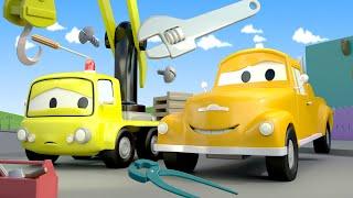 Odtahové auto pro děti - Jeřáb Charlie Odtahové auto Tom ve Městě Aut