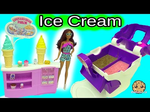 Big Fail Video – Ice Cream Maker Machine Makes Real Food for Disney Frozen Kristoff & Anna Dolls