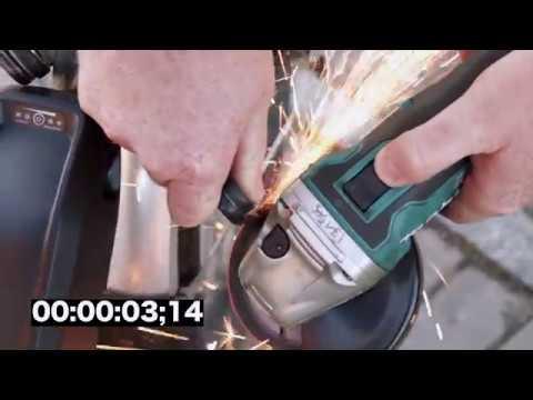 Abus BORDO GRANIT XPlus™ 6500 cut in 16 seconds