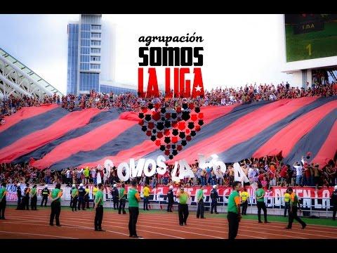 """""""Lo Que No Te Muestran Por TV - #LaFiestaLiguistaEsNacional"""" Barra: La 12 • Club: Alajuelense"""