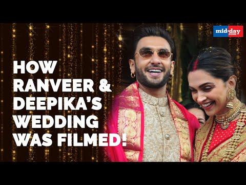 How Ranveer Singh and Deepika Padukone's wedding was filmed!