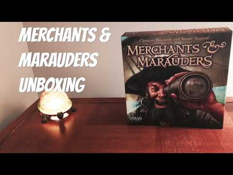 Merchants & Marauders - Unboxing