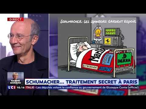 Schumacher : Traitement secret à Paris Schumacher : Traitement secret à Paris