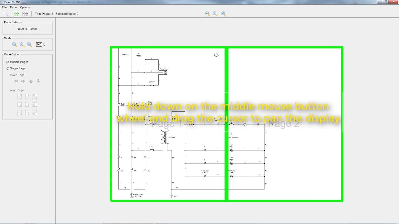 hight resolution of pdf export tutorial
