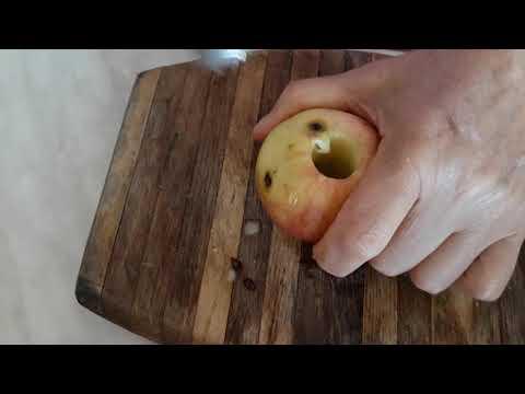 Нож для удаления сердцевины у яблок и груш.Очень эффективно🤗