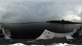 Camino a la Estación Tres Gigantes, pantanal paraguayo en 360°