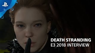 Death Stranding Interview with Hideo Kojima and Hermen Hulst   PlayStation Live From E3 2018