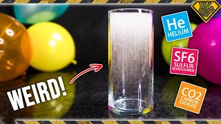 What Happens When You Mix Helium & Sulfur Hexafluoride?