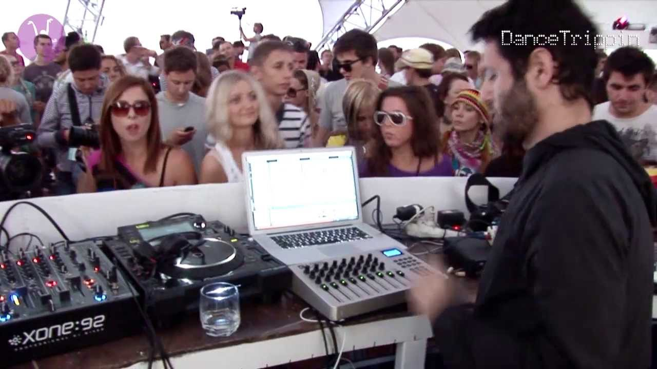 Guy Gerber, Art Department, Maayan Nidam - Live @ Kazantip 2011