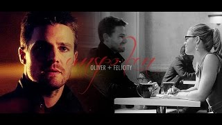 oliver + felicity | don't get the girl. [#4]
