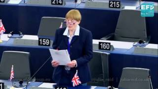 EU bureaucracy and legislation is no solution to food wastage - Julia Reid MEP