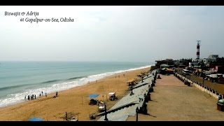 preview picture of video 'Gopalpur on Sea - In Odisha'