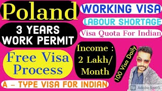 Apply Poland Work Visa 2019 || Get Poland Work Permit from India || Visit Poland for work || Poland