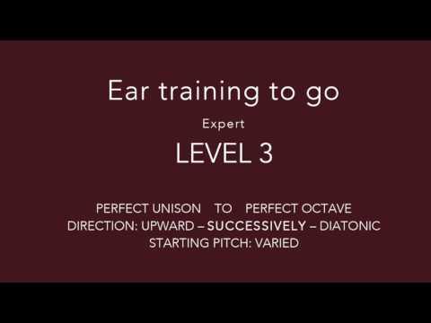 Ear training - Interval training on the go