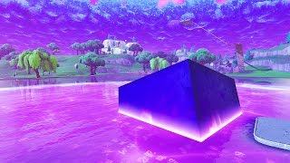 the CUBE just MELTED into Loot Lake!! (LIVE REACTION w/ TMARTN) Chaos