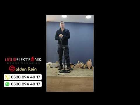 Golden Rain Dedektör Çelik Testi